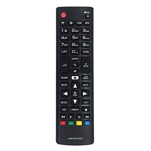 MYHGRC New Replacement Remote AKB74915324 for LG Smart TV Remote Control LED LCD Plasma 3D Smart TV 32LH604V 40UH630V 43UH610V - No Setup Required