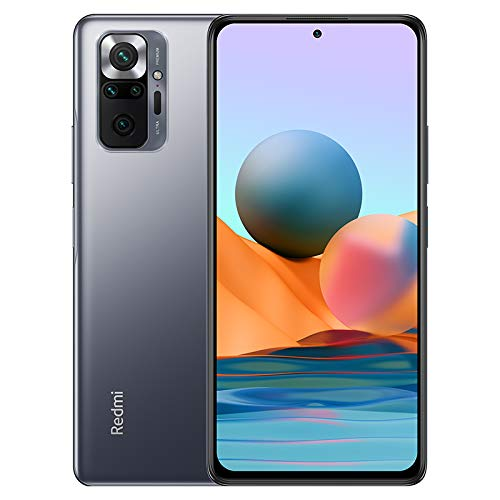 Xiaomi Redmi Note 10 Pro Smartphone 6GB 64GB Teléfono, 6.67' AMOLED Dot Display, Qualcomm Snapdragon 732G Versión Global(Grey)