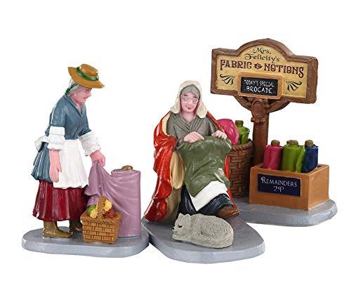 Lemax Fabric Vendor 02951 Christmas Village Winter Village Figure