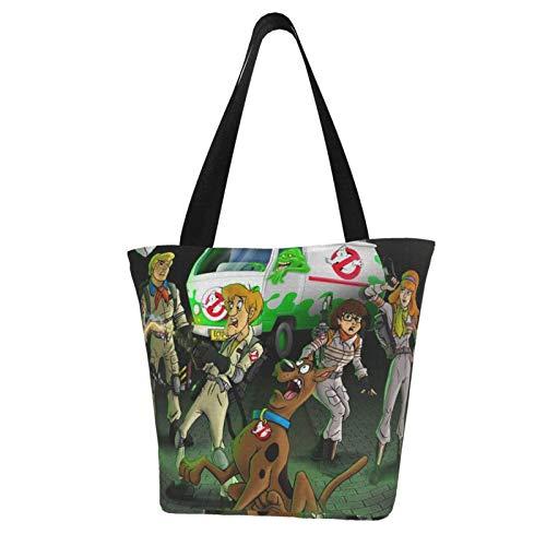 Hagerloo Cazafantasmas, mujeres viejas, bolsas de transporte, bolsos de hombro de gran capacidad, mochilas de mensajero, correas portátiles, resistentes y duraderas