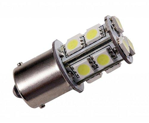 Grv 2X BA15s 1156 1141 Ampoule LED 13 5050 SMD 12V 24V Blanc Froid