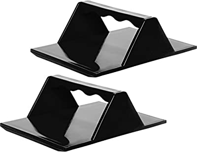 2 Pack Tamales Masa Spreaders w/Easy Grip Ergonomic Handle for Faster Better and Easier Results by Mindful Design | New and Improved (Black) by Mindful Design