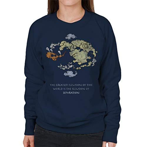 Cloud City 7 Avatar The Last Airbender World Map Women's Sweatshirt