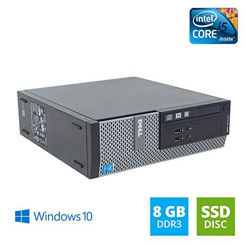 DELL OptiPlex 3020 SFF Intel Core i5 3.20 GHz 8GB DDR3 240GB SSD DVD Writer Windows 10 Home 64bit (Generalüberholt)