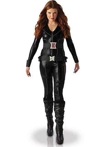 Rubies - Disfraz Oficial de Viuda Negra de Marvel para Mujer Adulta - Talla pequeña