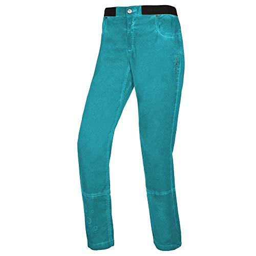 Trango Pant. Largo Stunt Vt Pantalon Femme, Bleu, L