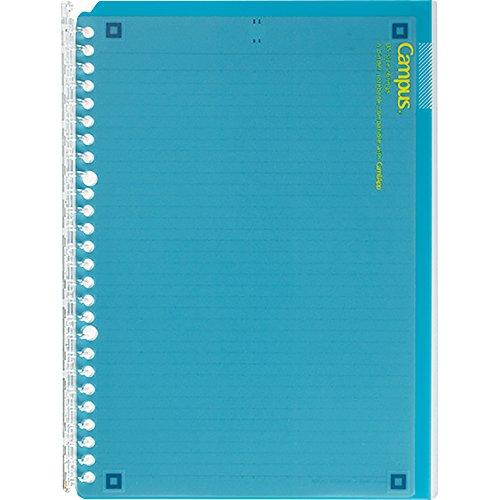 Kokuyo campus binder notebook CamiApp B5 26 hole 25-sheet blue