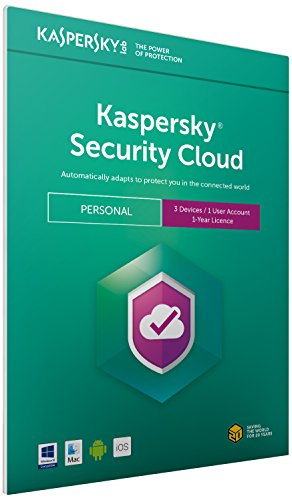 Kaspersky Security Cloud - Personal | 3 Devices | 1 Year |...