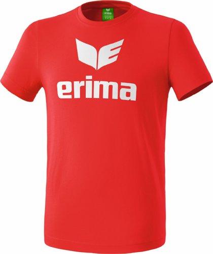 erima Kinder Promo T-Shirt, Rot, 164
