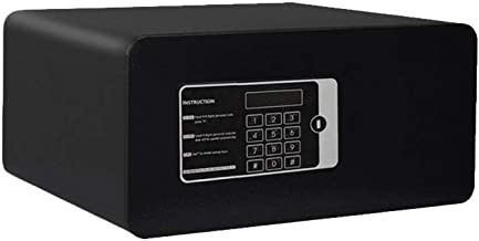 JBAMQ Boxes & Organisers Steel Structure Small Home Office Digital Electronic Safe (200 * 420 * 350mm) with Emergency Key ...