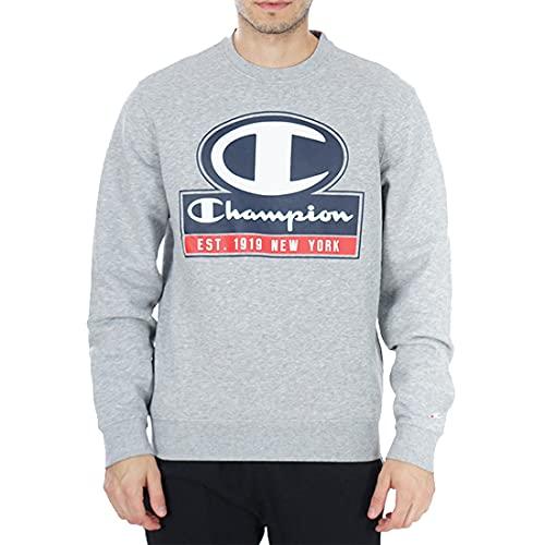 Champion Sweat-shirt pour homme Gris Taille XL