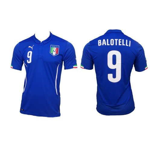 Italia Balotelli Camiseta Home 2014, XL