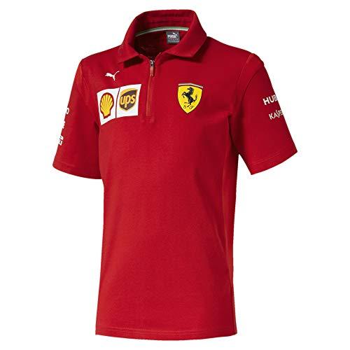 PUMA Ferrari Jungen Team Polo Rosso Corsa 164