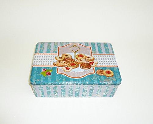 AVENUELAFAYETTE Boîte à Sucre métal Gourmandise - Vintage rétro (M1)