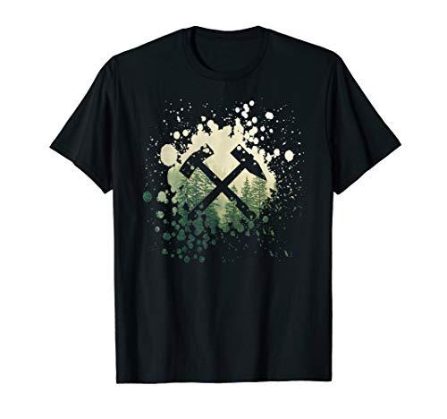 Schlägel und Eisen - Glück Auf Erzgebirge T-Shirt