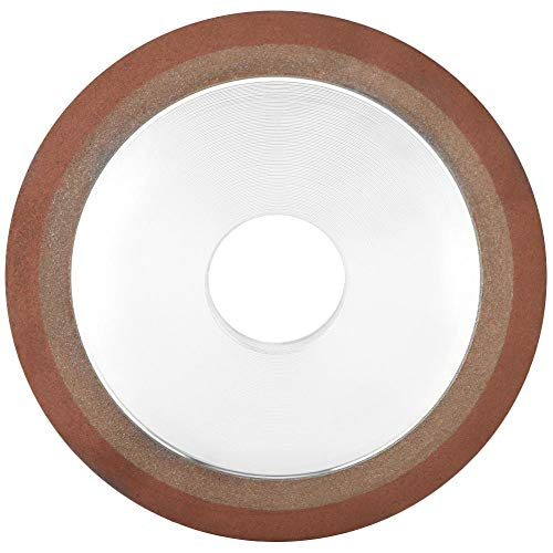 Disco de Corte Rueda de Resina Diamante Acero de tungsteno 125 * 10 * 32 * 8 mm de molienda herramientas rotativas para piedras de cristal de piedras preciosas