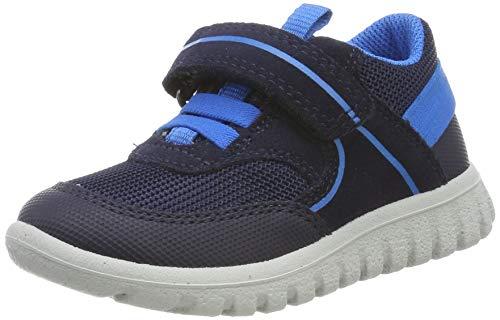 Superfit Baby-Boys SPORT7 MINI-50619680 Sneaker, Blau (Blau/Blau 80), 24 EU