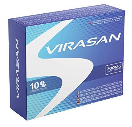 Virasan 200mg 10 Tablets | Effective Immediately, Long Lasting, No Contraindications, 100% Natural