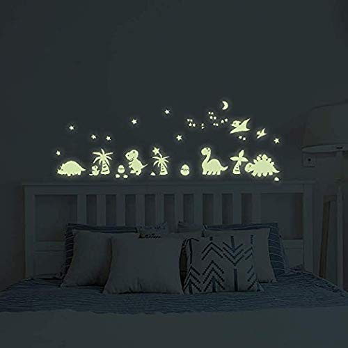 Wall Decals Glow Ranking TOP14 in The Dark Decorations BENBO Peel D Dinosaurs Oakland Mall