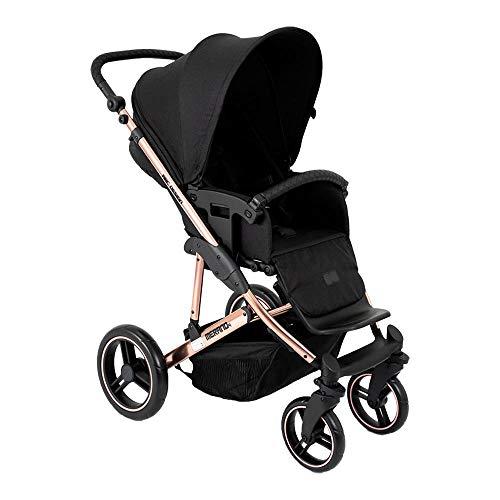 Carrinho de Bebê Abc Design Travel System Merano Rose Gold (com Shopping Bag)
