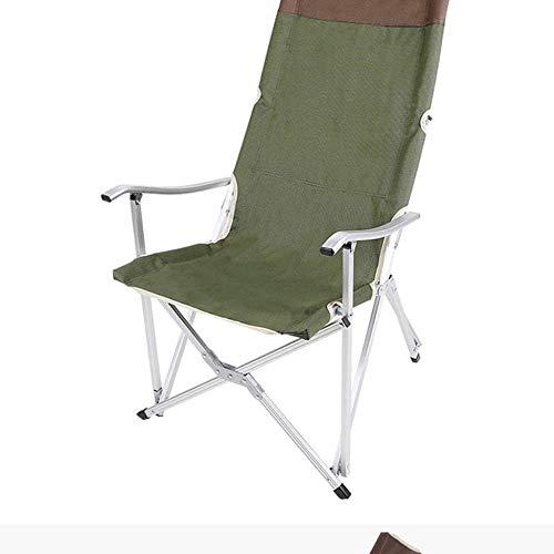 Sillas compacto y ligero que acampa plegable mochila, portátil, Breathablem cómodo, del respaldo silla perfecta for el aire libre, Camping, Senderismo, Picnic (Color: Marrón + cubierta de la Copa), Co