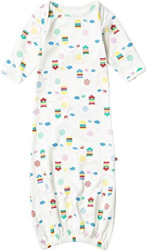 Piccalilly Baby Jungs Mädchen Nachthemd Bio-Baumwolle Unisex Bienen Muster Nuegeboren