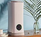Solagua Humidificador Ultrasónico Aromaterapia C/Luces LED, Difusor de Aceites Esenciales, Purificador de Aroma de Vapor Frío. Ideal para Casa Oficina y Tienda (2L, 5426)