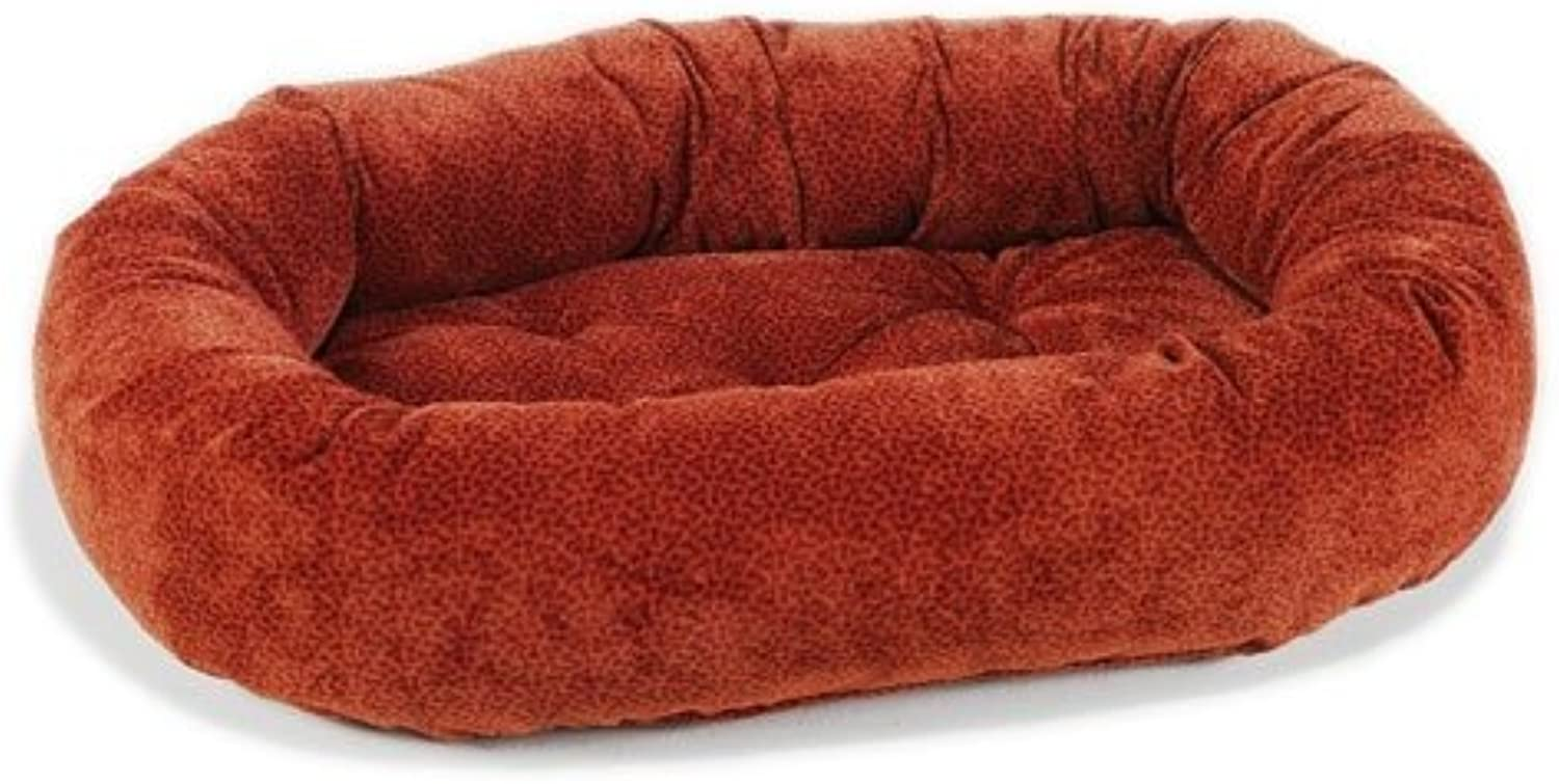 Bowsers Donut Bed, Small, Cherry Bones