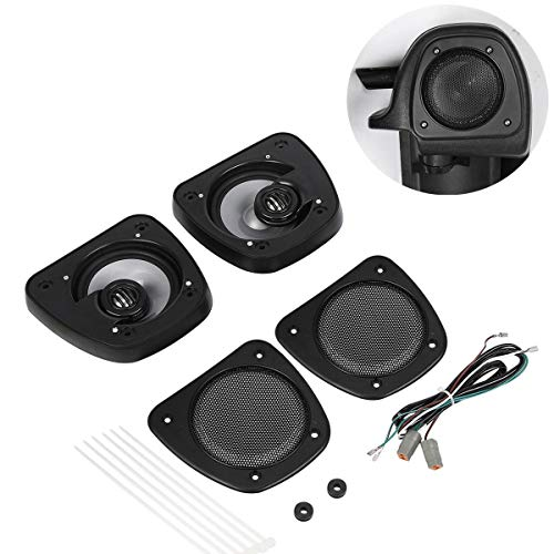 TCMT Audio Lower Fairing Speakers Kit Fits for Harley Touring Electra Glide FLHT 2006-2013