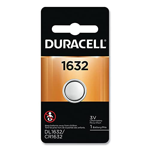 Duracell Lithium Coin 1632, 0.0088184904873951035...