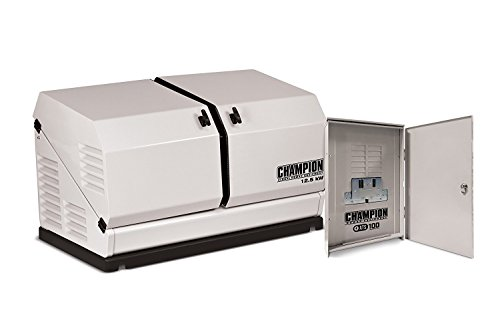 Champion Power Equipment 12.5Kw 200 Amp Duel Fuel Standby Generator with Automatic Transfer Switch