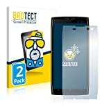 BROTECT 2X Entspiegelungs-Schutzfolie kompatibel mit Doogee S50 Bildschirmschutz-Folie Matt, Anti-Reflex, Anti-Fingerprint