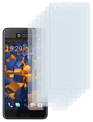 mumbi Schutzfolie kompatibel mit HTC U Ultra Folie klar, Bildschirmschutzfolie (6X)