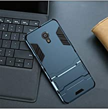 Fitted Cases - For Meizu M6 Note Case For Meizu M6S M6T M8110 Case Robot Armor Rubber shockproof cover For Meizu M5 Note M5s M5c A5 back case (Navy For Meizu M5 Note)