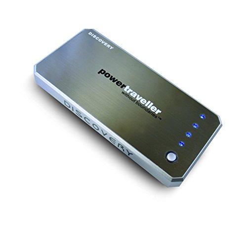 Powertraveller Discovery Batterie de Recharge Noir