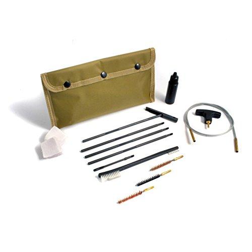 Niebling Kit de Nettoyage Flex S, 10 pièces, M4, pour Calibre .22 .228/5, 56–5, 7 mm Nettoyage pour Arme, Olive, One Size