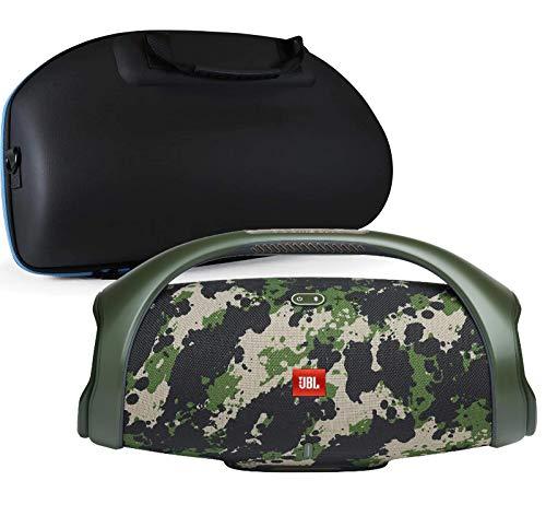 JBL Boombox 2 Waterproof Portable Bluetooth Speaker Bundle with divvi! Hardshell Case - Camouflage
