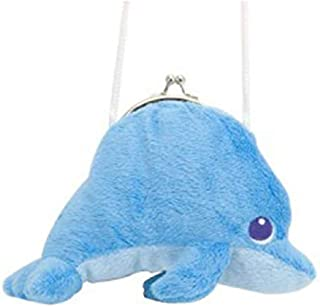 Wild Republic Clasp Purse Dolphin, Blue [88707]