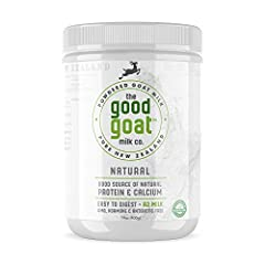 EASY TO DIGEST: Goats milk contains smaller fat globules and less alpha s1-casein than cows milk, making it easier to digest. It also contains 89% less A1 Beta Casein and more A2 Beta Casein. This combination is believed to cause less digestive disco...