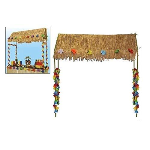 Marco con techo hawaiano para Tiki Bar