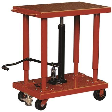 Hydraulischer Tisch, 1800 kg, 815 x 1220 mm, Hubhöhe 1500 mm