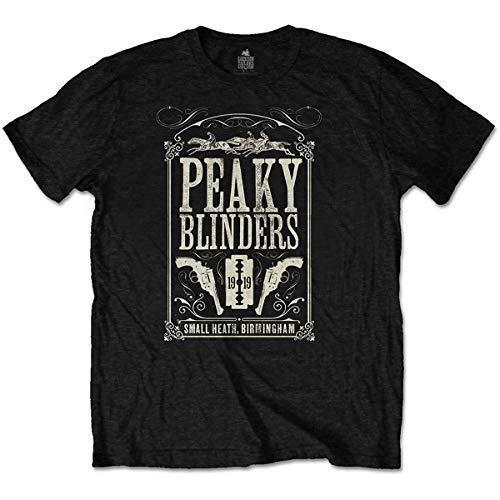 Peaky Blinders T Shirt Soundtrack 1919 Logo Nue offiziell Herren