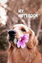 My Notebook. For Dogs Pets Lover. Blank Lined Planner Journal Diary.