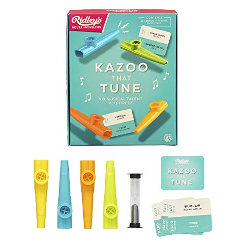 Ridleys Games RID430 Kazoo That Tune Game, Multi Juego de Mesa ...