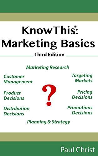 KnowThis: Marketing Basics, 3rd Edition