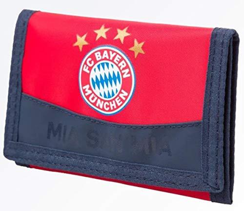 Geldbörse Cartera Compatible con el Bayern de Múnich + Pegatinas de Múnich Forever, Bolsa, Monedero, Purse, Bourse Munich