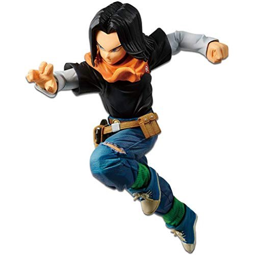 Banpresto Dragon Ball Super Battle with Dragon Ball FighterZ Android 17 Statue Figure