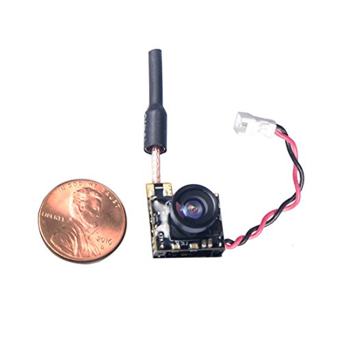 Wolfwhoop WT05 Micro AIO 600TVL Camera Only 3.4g 5.8GHz 25mW FPV Transmitter with Dipole Brass Antenna Combo for FPV Quadcopter Drone