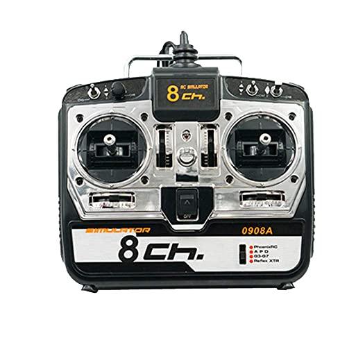 Ellenbogenorthese-LQ Repuestos RC SM Pro 8Ch Drone Simulator Soporte Realflight G7 Phoenix 5.5 para RC Drone Quadcopter Avión