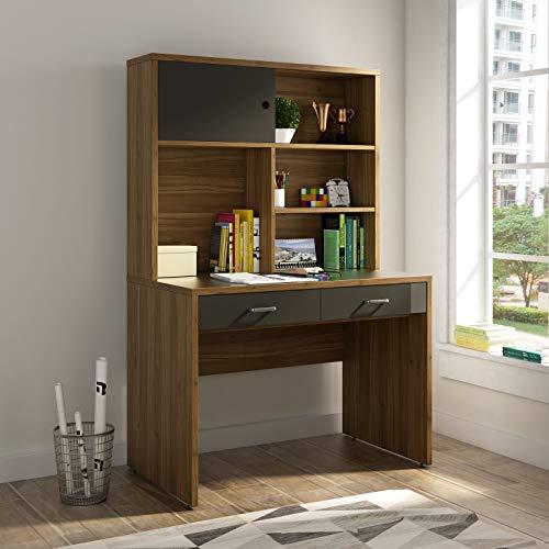 Home Centre Quadro Study Desk - Walnut